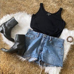 💕Sonoma everyday black tank top